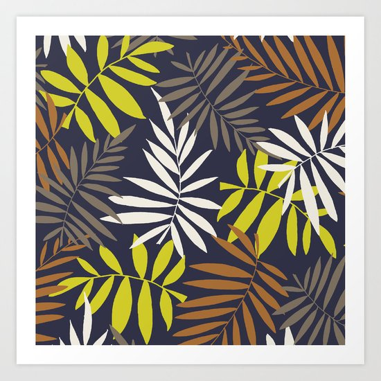 Tropical fell II Art Print