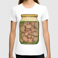 clueless T-shirts featuring Pickled Pig Revisited by Megs stuff