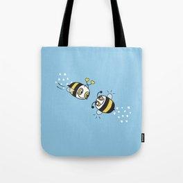 Love bees  Tote Bag