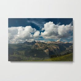 Val Gardena - Landscape from Ciampinoi Metal Print
