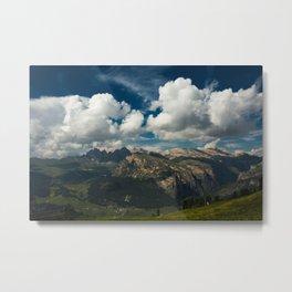 Val Gardena - Landscape from Ciampinoi Metal Print