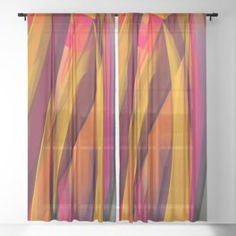 Indian Summer Sheer Curtain