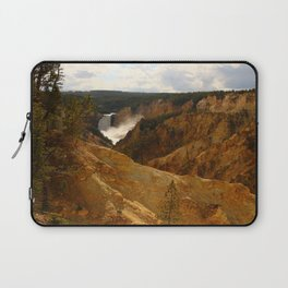 Thundering Waters Of The Yellowstone River Laptop Sleeve