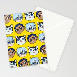 AoKuro family Stationery Cards
