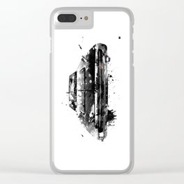 extravagant and mysterious Clear iPhone Case