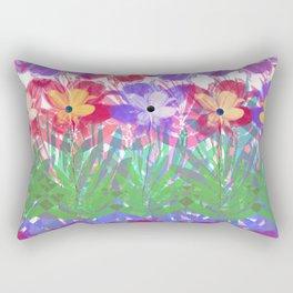 Flower Carpet 81 Rectangular Pillow