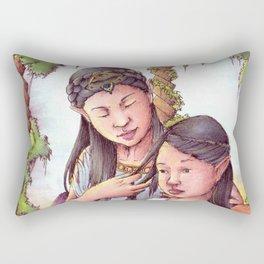 Aredhel and Anarie Rectangular Pillow