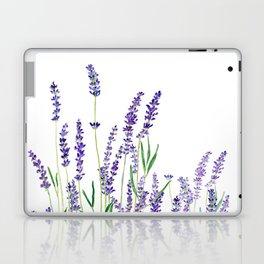 lavender watercolor horizontal Laptop & iPad Skin