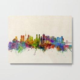 Tokyo Japan Skyline Cityscape Metal Print