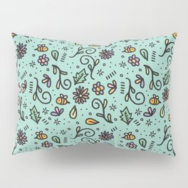 B's and F's Pillow Sham