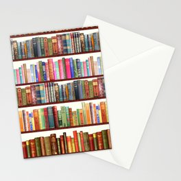 Jane Austen Vintage Book collection Stationery Cards