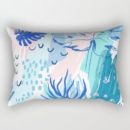 Night Jungle Rectangular Pillow