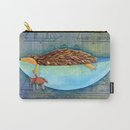 hedgehog dreams Carry-All Pouch
