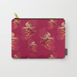 Indian elephant dancing Carry-All Pouch