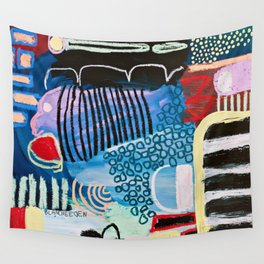 Pez Azul Wall Tapestry