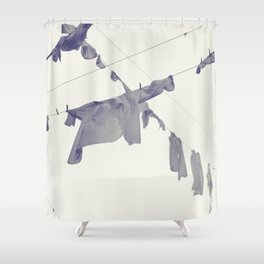 washing... Shower Curtain