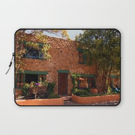 Alley In Old Town Santa Fe Laptop Sleeve