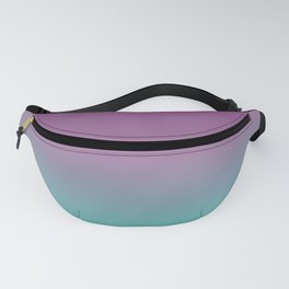 Green and Purple Ombre Fanny Pack