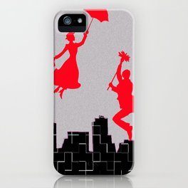Mary Poppins squares iPhone Case