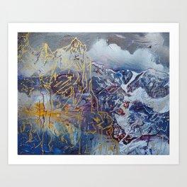 Teton Glaciers Art Print