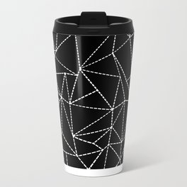 Ab Dotted Lines Metal Travel Mug