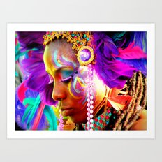 Warrior Princess Art Print
