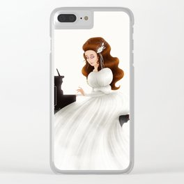 Liesl in Labyrinth Clear iPhone Case