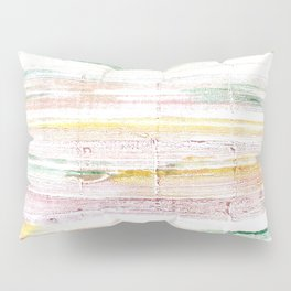 Baby powder abstract watercolor Pillow Sham