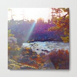 Benham Falls Metal Print