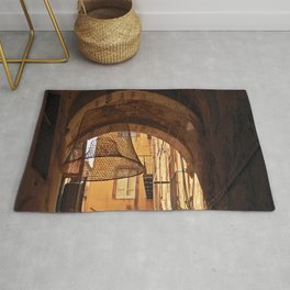 ARCHWAY and Sardinian fish traps Rug