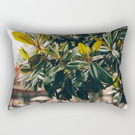 Magnolia Tree in Jackson Square Rectangular Pillow