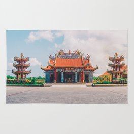 Chinese temple Rug