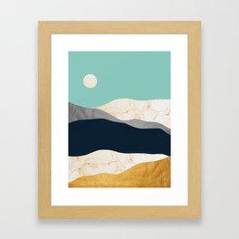 Modern Landscape XIV Framed Art Print