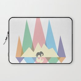 Mountain elephant #society6 #decor #buyart #artprint Laptop Sleeve