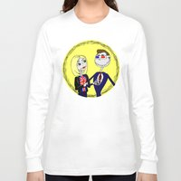 dr who Long Sleeve T-shirts featuring A Dr Who Nightmare by Cheeky Designs