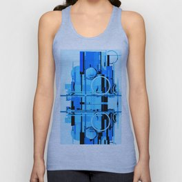 Abstract Composition 613 Unisex Tank Top