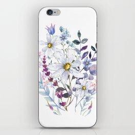 Wildflowers V iPhone Skin