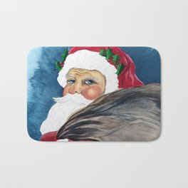 Santa's Got a Brand New Bag Bath Mat