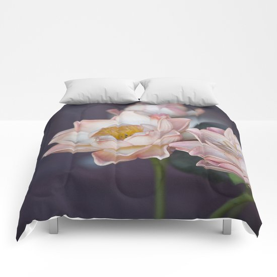 Lovely Water Lily II Comforters