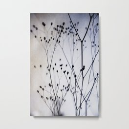 Abstract Flowers 4 Metal Print