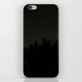 Nightscape at Orcas Island iPhone Skin
