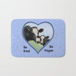Holstein Cow and Calf Vegan Bath Mat