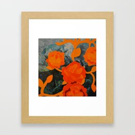 Growth and Decay #4 Framed Art Print