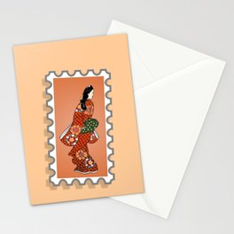 Beauty looking back. Stationery Cards