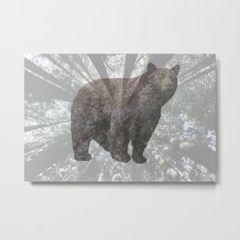 BEARWOOD Metal Print