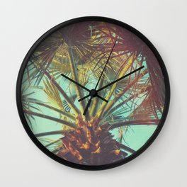 Hipster Palm Wall Clock