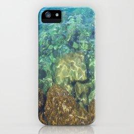 Greek Sea Water iPhone Case