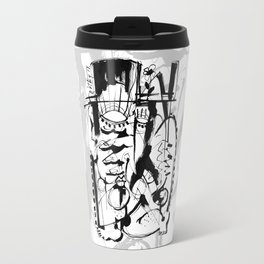 Gentleman - b&w Travel Mug