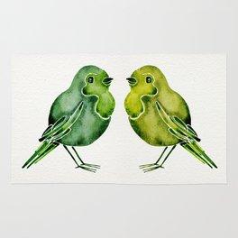 Parakeets Rug