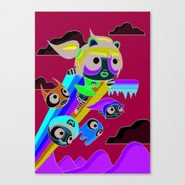 The Power Nyan Girl Canvas Print